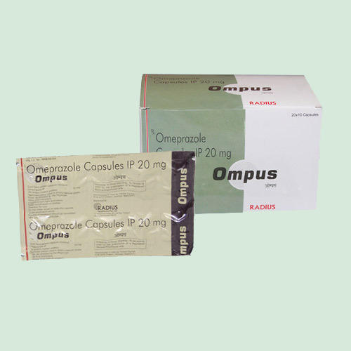 Medicine Grade Ompus Caps, Packaging Type: Strips