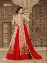 Net Bridal Wear Designer Anarkali Suit