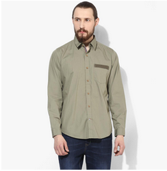 Red Chief Navy Casual Shirt 8110371, Size: 42 And 46