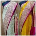 6 M (with Blouse Piece) Banarasi Silk Banarasi Printed Saree