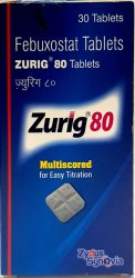 Febuxostat Tablets zurig 80 tablet