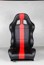 JTI Black and Red Rally Seat