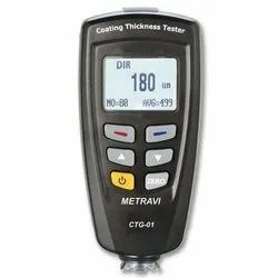 V-Tech 0-1250 Micron Coating Thickness Gauges, Model: VT-01, Lcd