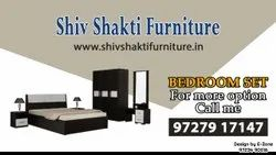SSF Brown Bed Room Package, For Home, Ahmedabad