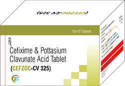 Cefixime Potassium Clavunate Acid Tablets