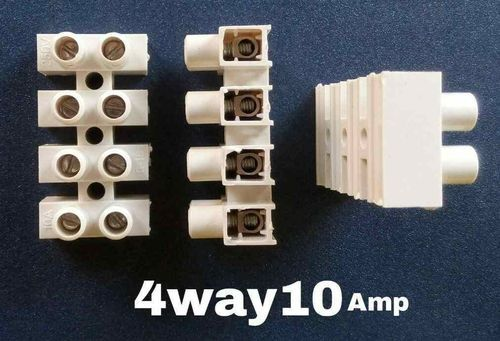 Plug in strip terminals connect 6 amp /& 10 amp electrical cable wiring