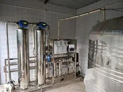 MGR 1000LPH RO UF UV SS Fully Automatic RO Plant