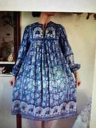 Y Cotton Traditional Printed Garments, GSM: 50-100, Model Name/Number: Jc