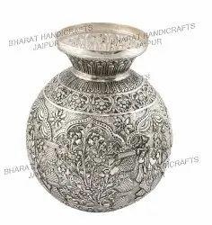Antique Silver Plated Kalash