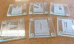 Acrylic Transparent Coaster