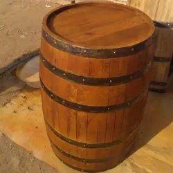 Antique Decorative Wine Barrel Capacity 50 100 Litres Rs 6000