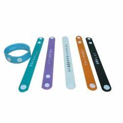 Silicone Button Wristband
