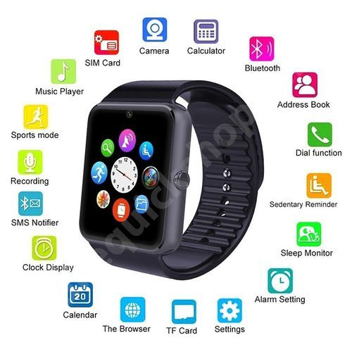 bb39c900f4 Unisex Bluetooth Smart Watch GT08 For Android And IOS, Rs 700 /piece ...