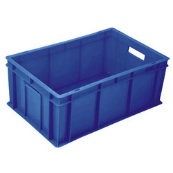 Handle Plastic Crates with Complete Close Crate