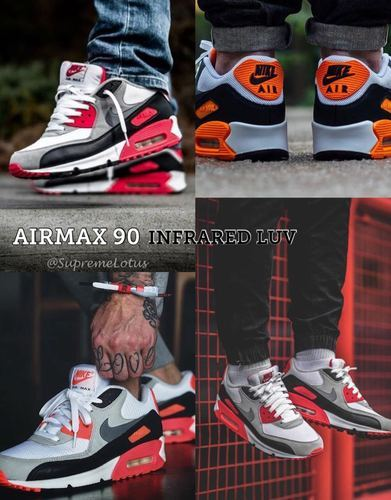 Nike Airmax 90 Infrared Shoes