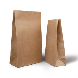 Paper 8 Grocery Bag, For Food Delivery, Capacity: 1kg