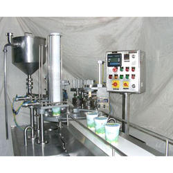 Curd Cups Filling Machines