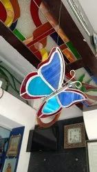 Glass Hanging Butterfly