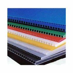 Corrugated Plastic Sheet, Size (inch x inch): 48 X 96 Inch