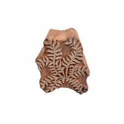 Wooden Leaf  Printing Block