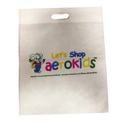 4 Color Printed D Cut Shopping Bag