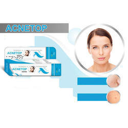 Acnetop Cream - Clindamycin Topical 1% ,Nicotinamide 4%