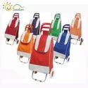 Shopping Trolley Base on Wheels
