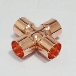 Copper Cross Fitting