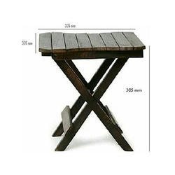 Wooden Rectangular Antique Table