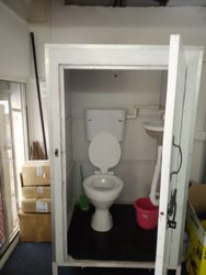 FRP Prefabricated Western Toilet Cabin