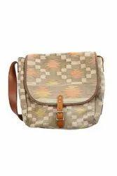 Printed Multicolor Designer Bag