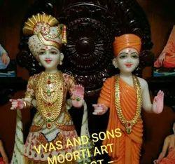Marble Swaminarayan Murti