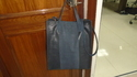 Navy Shopper Bag