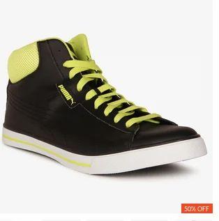 PUMA Laceup Ankle Length Shoes, Size: 7