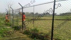 Garden Interlock Chain Link Wire Netting