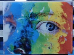 Multicolor Printed Glass