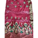 Party Wear Printed Bandhani Work Silk Ladies Saree, 5.60m Without Blouse, With Out Blouse Piece