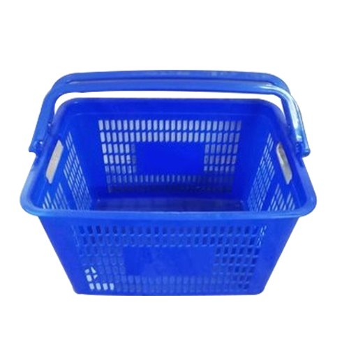 ERA Blue Plastic Shopping Baskets, Capacity: 5-10 Kg