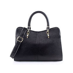 61f5e17187d9 Black Ladies Stylish Leather Hand Bag
