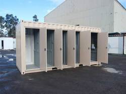 FRP Containerized Toilet