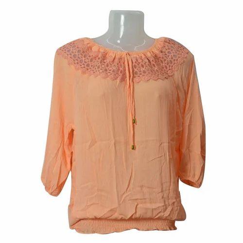 fc2d068000658 Plain Casual Women  s Designer Top