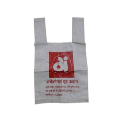 U Cut Plastic Handle Bag