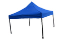 Quick Foldable Gazebo Tent - Heavy Duty - 10'x10' - Blue