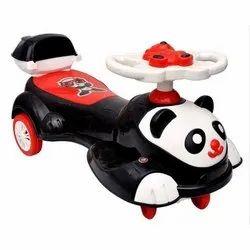 Plastic Kids Panda Magic Car
