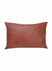 Tan Na Leather Decorative Sofa Cushion Cover