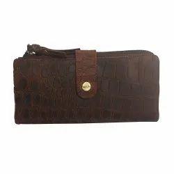 874f772a668 Ubai Lifa Brown Ladies Designer Leather Clutch, Rs 400 /piece | ID ...