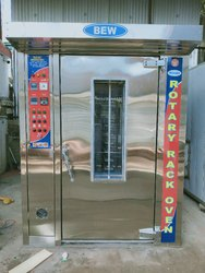 Three Phase Semi-automatic BAKERY OVEN, for Biscuit, Baking Capacity: 24