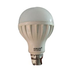 Ceremic Round 9 Watt Chinese LED Bulb