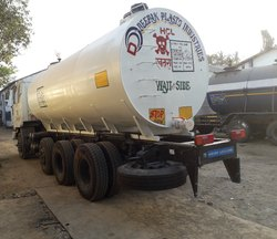 10 Ton Spiral HDPE Lined Transportation Tanker