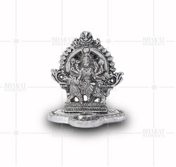 Silver Plated Small Durga Idols